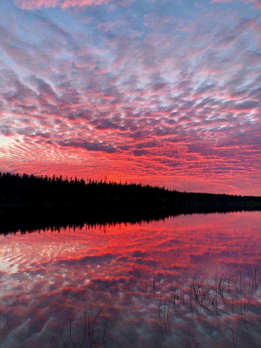 Sunset at Torassieppi