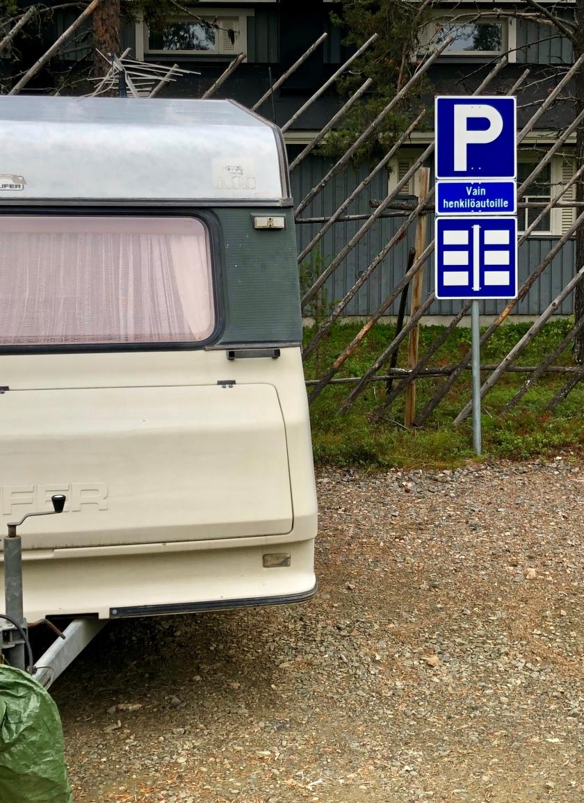 Ylläs parking